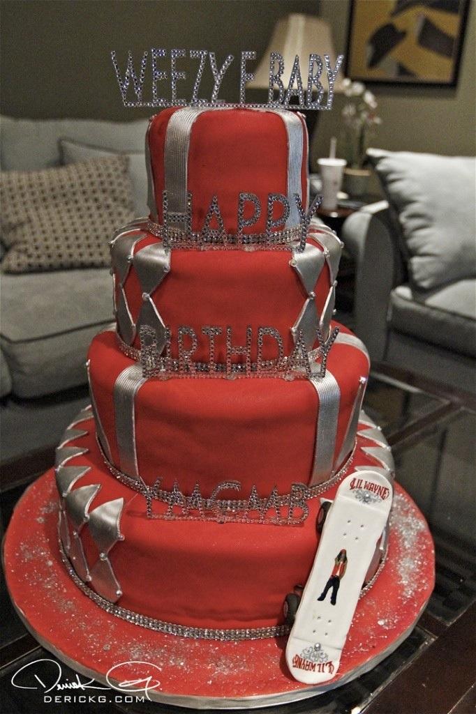 Birdman Surprised Lil Wayne With A Diamond Birthday Cake Young N Fly